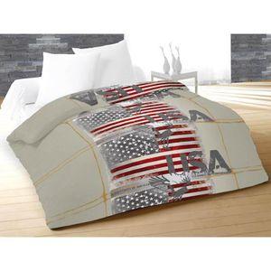couette gris achat vente couette gris pas cher les soldes sur cdiscoun. Black Bedroom Furniture Sets. Home Design Ideas