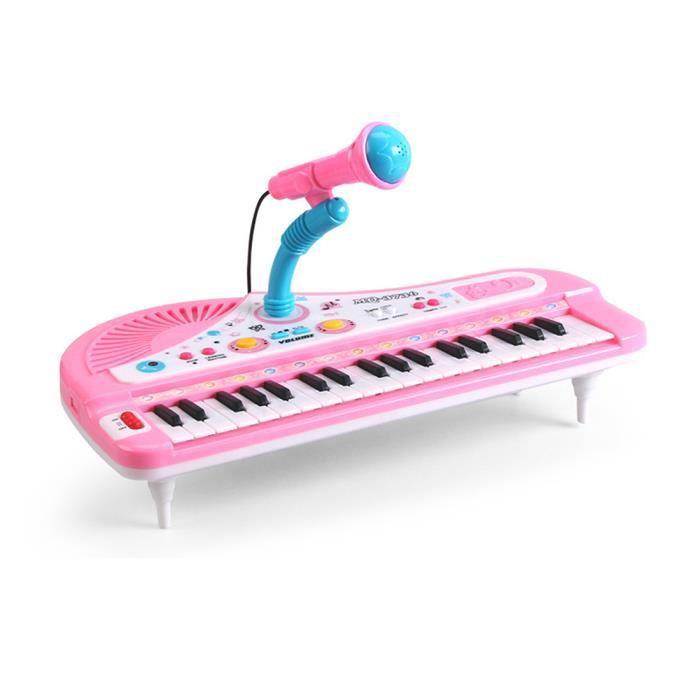 jouets piano pour enfants ans achat vente jeux et jouets pas chers. Black Bedroom Furniture Sets. Home Design Ideas