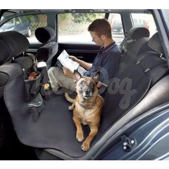 Housse de protection banquette arri re pour chien voiture for Housse pour automobile