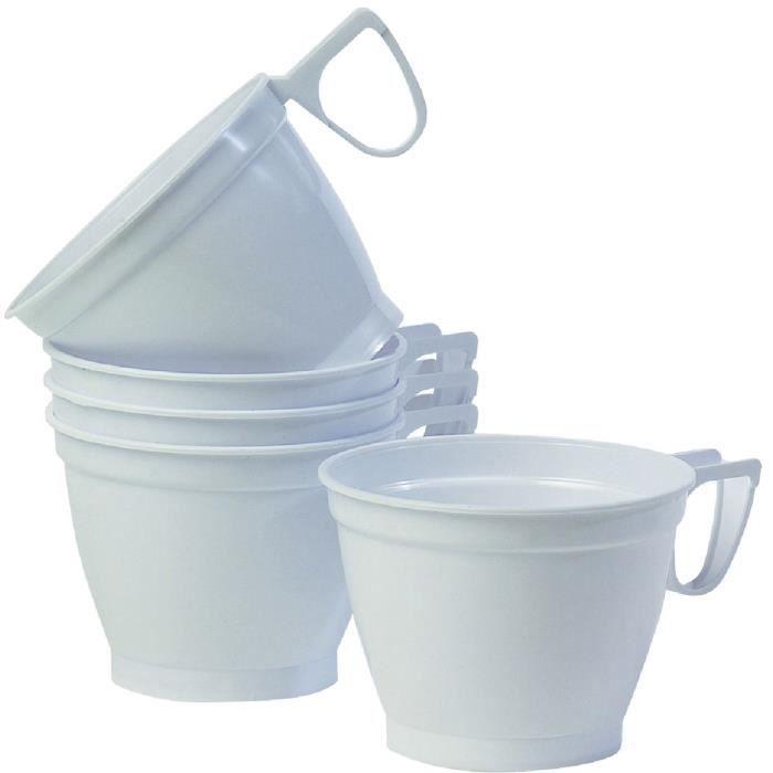 tasse caf jetable 10 cl blanc par 10 achat vente verre jetable cdiscount. Black Bedroom Furniture Sets. Home Design Ideas