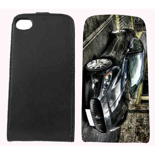 Housse cuir voiture italienne iphone 4 ou 4s achat for Housse voiture cuir