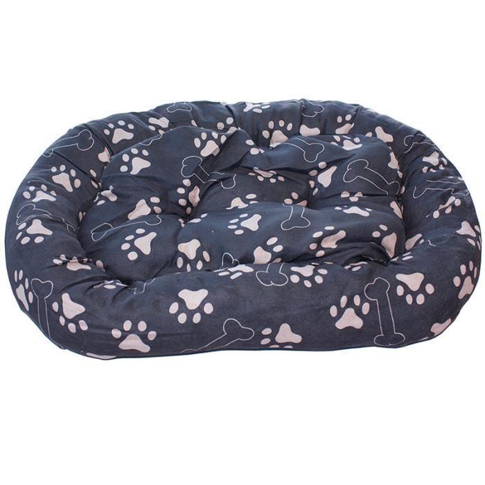 panier coussin pour chien tr s confortable gris fonc achat vente corbeille coussin. Black Bedroom Furniture Sets. Home Design Ideas