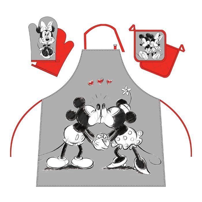 Set de cuisine tablier manique gant de cuisine motif - Model tablier de cuisine ...