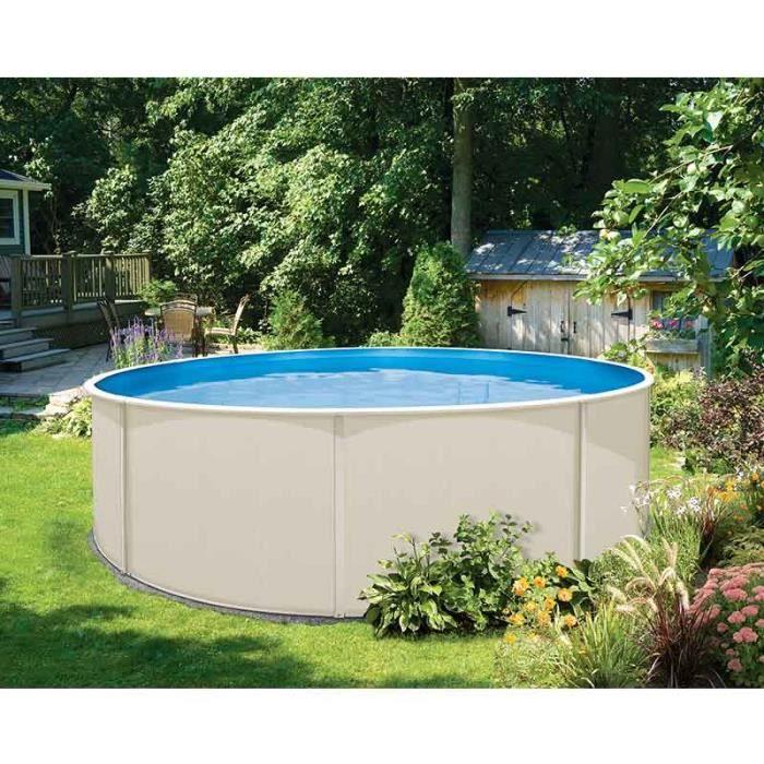 Piscine kit topaze ronde 4 57m garden leisure achat for Soldes piscine tubulaire rectangulaire