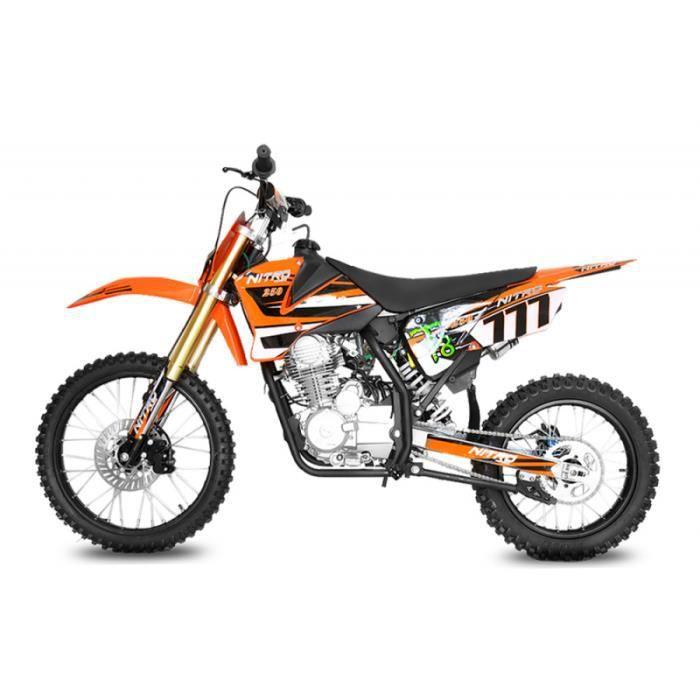 KXD Moto Dirt Bike 50cc Enfant Bleue  Achat / Vente moto Moto DIRT BIKE enfant