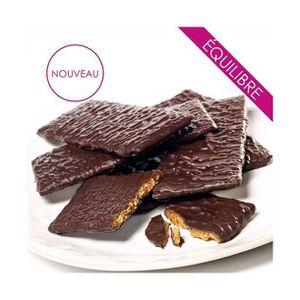 DESSERT MINCEUR Croustillant au chocolat noir - régime minceur
