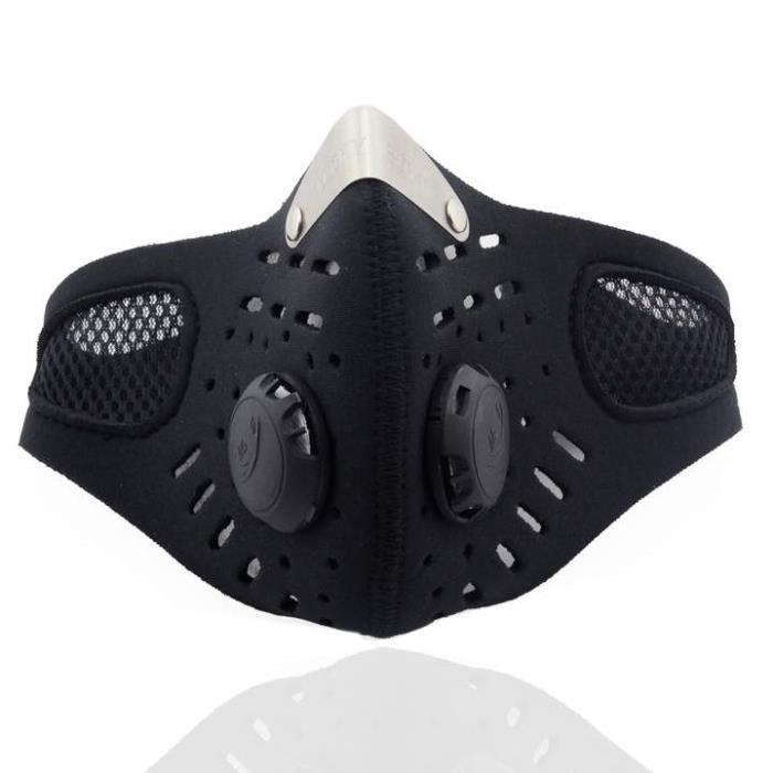 visage moto ski anti pollution masque sport bouche moufles avec filtre antipoussi re achat. Black Bedroom Furniture Sets. Home Design Ideas