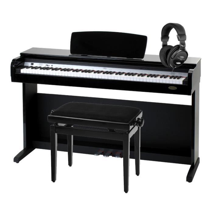 classic cantabile dp 40 piano num rique en noir achat. Black Bedroom Furniture Sets. Home Design Ideas
