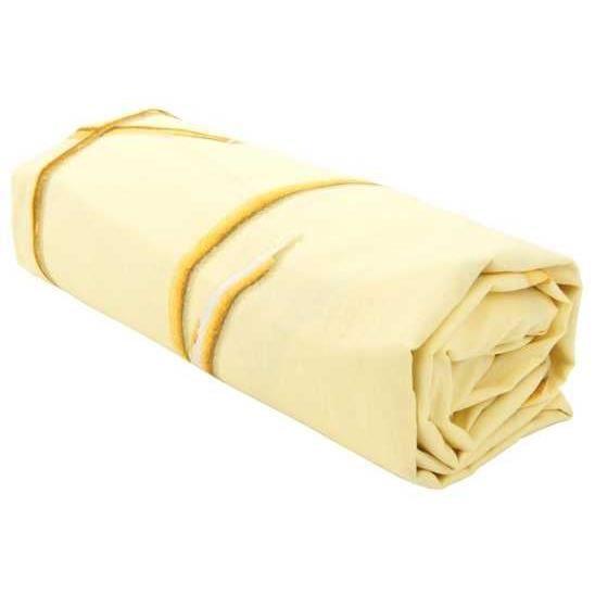Drap housse 1 pers 90x190cm jaune motif paille achat - Drap housse jaune ...