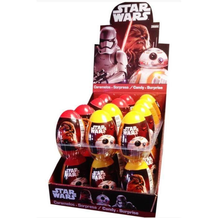 1 oeuf surprise star wars bonbon et surprise jouet achat vente figurine personnage. Black Bedroom Furniture Sets. Home Design Ideas