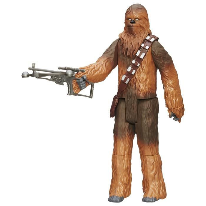 figurine star wars chewbacca 30 cm achat vente figurine personnage cdiscount. Black Bedroom Furniture Sets. Home Design Ideas
