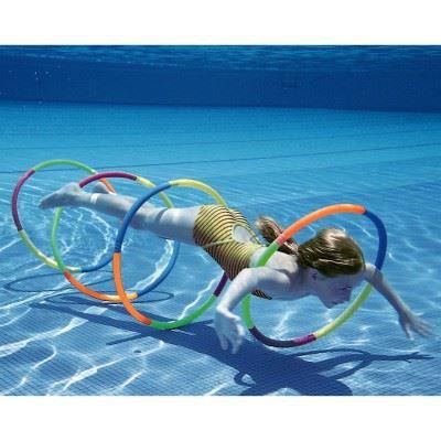 Cerceaux de piscine achat vente jeux de piscine for Piscine pour apprendre a nager