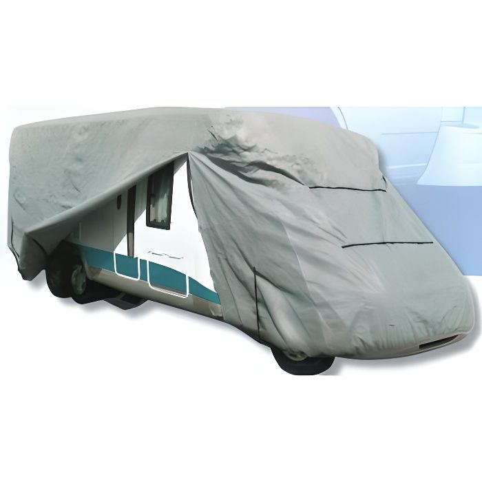 Housse bache de protection pour camping car jus achat for Housse tyvek camping car