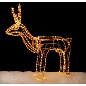 Renne lumineux achat vente renne lumineux pas cher cdiscount - Animaux lumineux noel ...