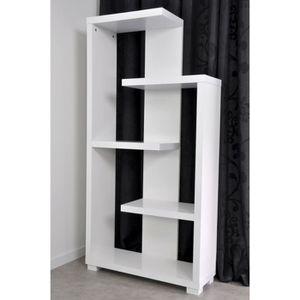 etagere asymetrique achat vente etagere asymetrique pas cher soldes cdiscount. Black Bedroom Furniture Sets. Home Design Ideas