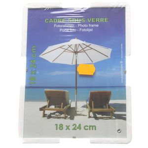 cadre photo sous verre 18 x 24 cm achat vente cadre photo verre cadeaux de no l cdiscount. Black Bedroom Furniture Sets. Home Design Ideas