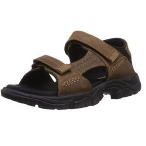 SANDALE - NU-PIEDS Timberland Crawley Sandales Homme Marron 7840A