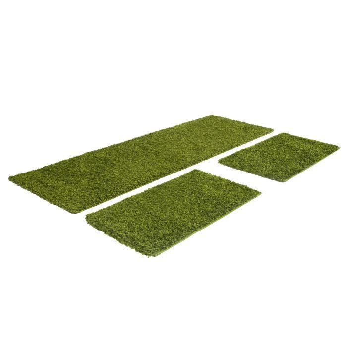 tapis fait le tour du lit 2x60 110 1x80 250 cm achat vente tapis cdiscount. Black Bedroom Furniture Sets. Home Design Ideas