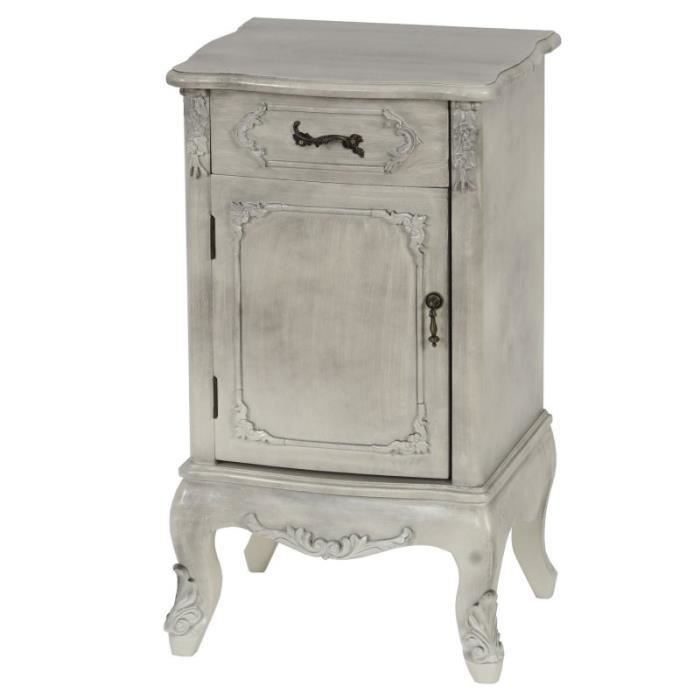 Commode table de chevet style baroque antique - Table de chevet baroque ...