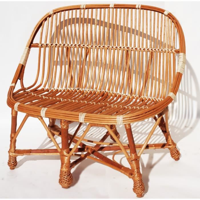 msk canap en osier naturel adril lot de 1 achat vente chaise fauteuil jardin msk. Black Bedroom Furniture Sets. Home Design Ideas
