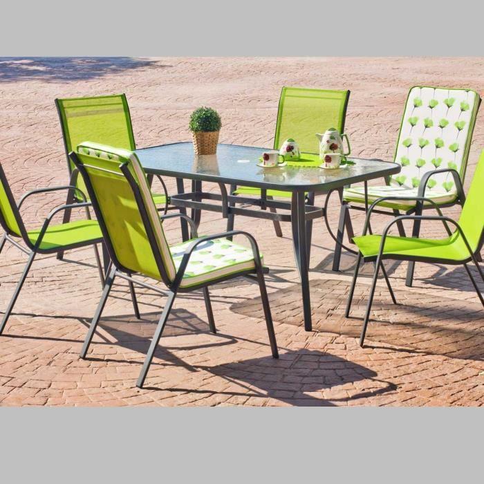 Table de jardin aranda 150x90 achat vente table de jardin table de jardin - Table jardin cdiscount ...