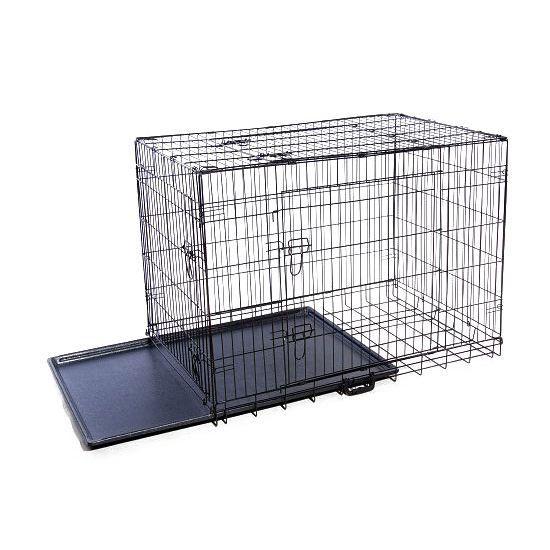 cage de transport chien en m tal 105x70x77cm neuf achat. Black Bedroom Furniture Sets. Home Design Ideas