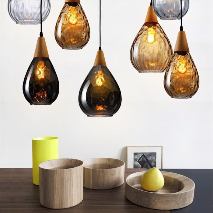 suspension moderne lustre verre vintage plafonnier bouteille de parfum lampe luminaire achat. Black Bedroom Furniture Sets. Home Design Ideas