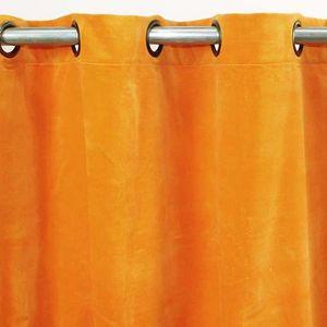 double rideaux jaunes achat vente double rideaux jaunes pas cher soldes d hiver d s le. Black Bedroom Furniture Sets. Home Design Ideas