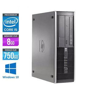 UNITÉ CENTRALE  PC HP 8100 - Core i5 - 3,2GHz -8Go -750Go -Windows