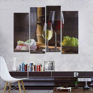 tableau toile verre a vin achat vente tableau toile verre a vin pas cher cdiscount. Black Bedroom Furniture Sets. Home Design Ideas