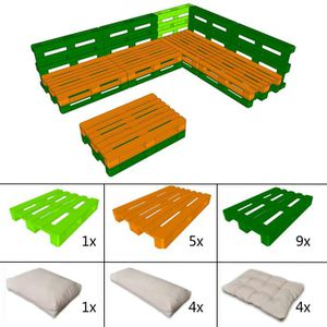 salon de jardin palette achat vente salon de jardin palette pas cher les soldes sur. Black Bedroom Furniture Sets. Home Design Ideas