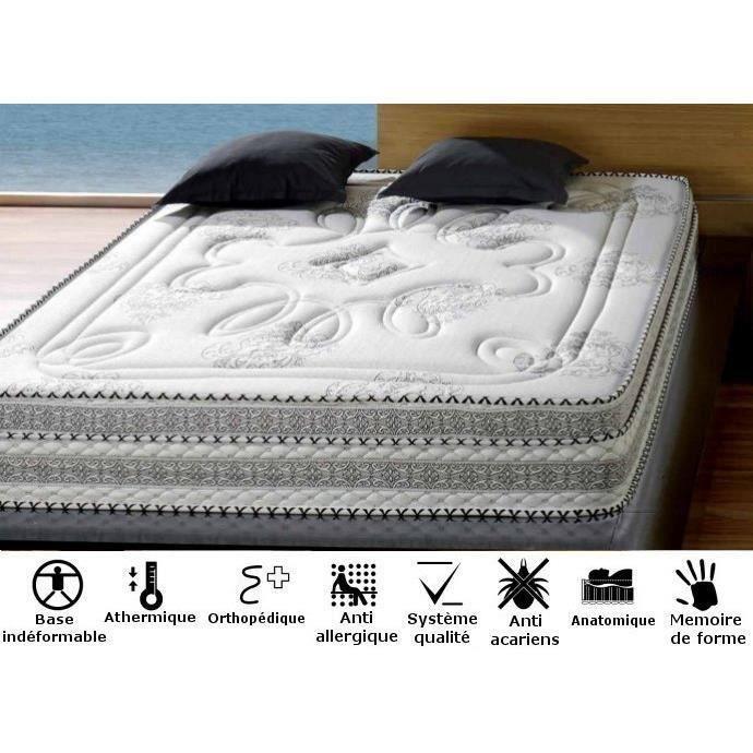 matelas gothique 160x200 m moire de forme achat vente. Black Bedroom Furniture Sets. Home Design Ideas