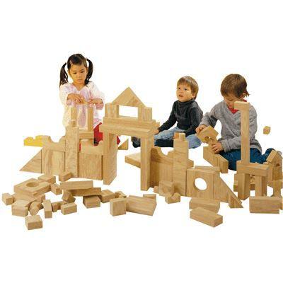 Jeu de constructtion briques geantes en bois natur achat vente assemblage construction jeu for Jeu construction bois