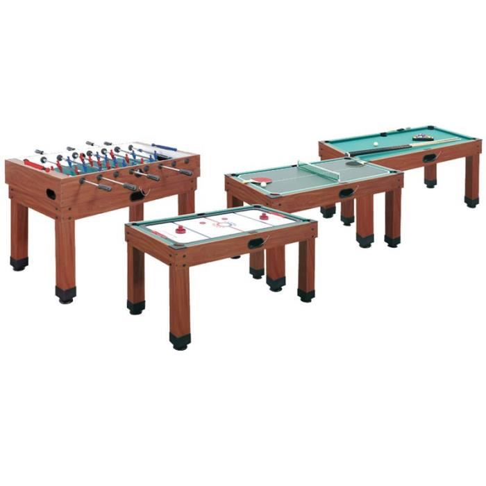 Table multi jeux 9 en 1 barres t l scopiques garlando achat vente table m - Table multi jeux 5 en 1 ...