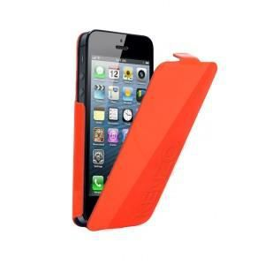 etui coque iphone 5 kenzo orange glossy achat housse. Black Bedroom Furniture Sets. Home Design Ideas