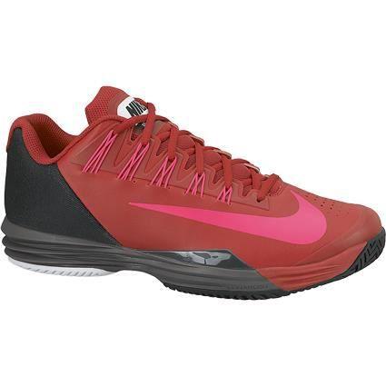 CHAUSSURES DE TENNIS Nike Lunar Ballistec rouge