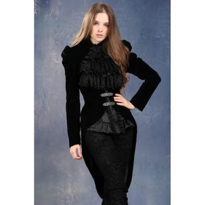 Veste femme gothique achat vente veste femme gothique - Veste queue de pie homme pas cher ...