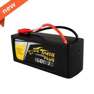 ACCESSOIRE MAQUETTE Pack Lipo Tattu Plus 16000mAh 22.2V 15C 6S1P