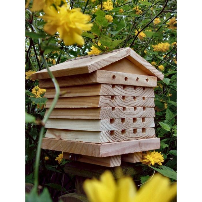 ruche pour abeilles solitaires achat vente ruche ruche pour abeilles solitaires cdiscount. Black Bedroom Furniture Sets. Home Design Ideas
