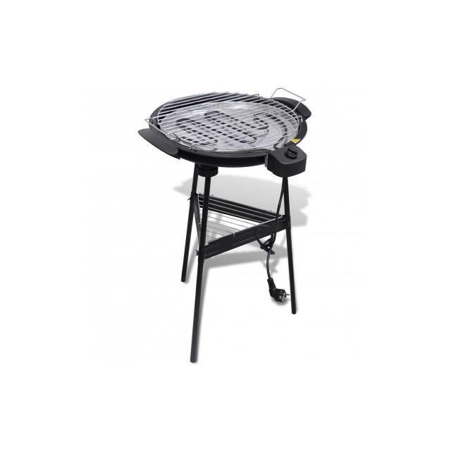 Barbecue electrique grille ronde pour jardin achat - Cisaille electrique pour jardin ...