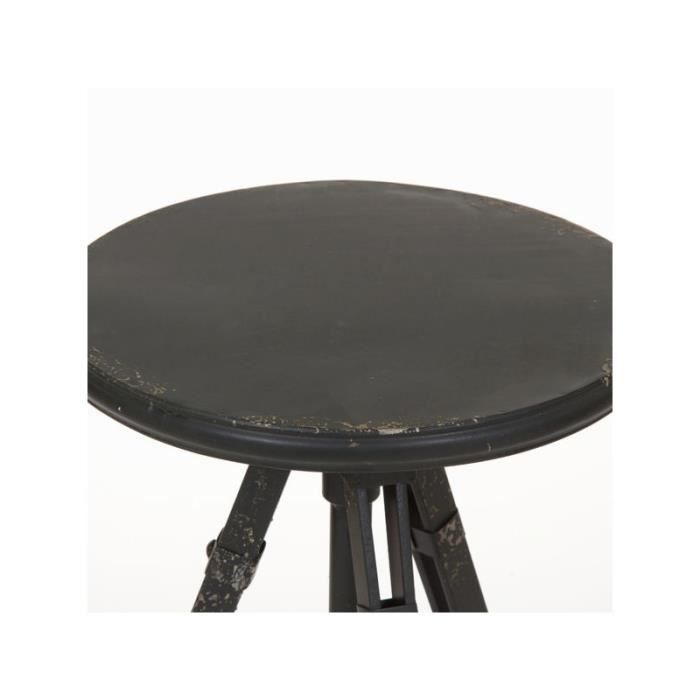 Table d 39 appoint ronde by craften wood achat vente - Table de cuisine d appoint ...