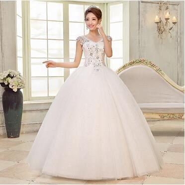 Robe de princesse mariée Robe de soirée - Achat / Vente robe de ...
