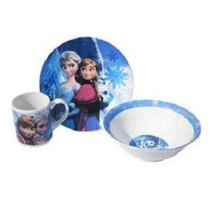 Set dejeuner la reine des neiges achat vente set for Set petit dejeuner porcelaine
