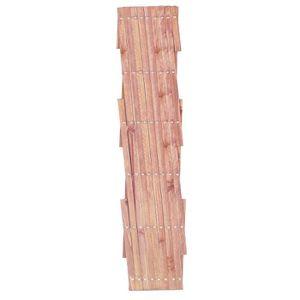 brise vue panneau bois achat vente brise vue panneau bois pas cher cdiscount. Black Bedroom Furniture Sets. Home Design Ideas