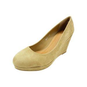 ESCARPIN Escarpin, chaussure femme compensée talon haut et
