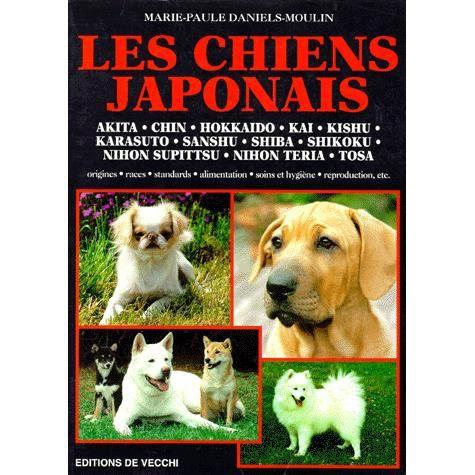 chiens japonais achat vente livre daniels moulin de vecchi parution 02 d cembre 1998 pas. Black Bedroom Furniture Sets. Home Design Ideas