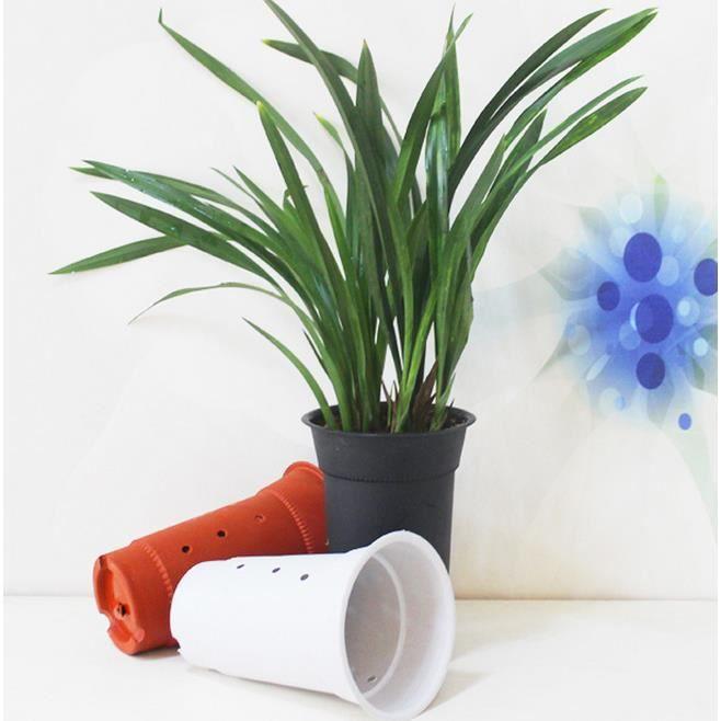 5pcs taille paissie pots d 39 orchid es givr pots en - Arrosage orchidee en pot ...