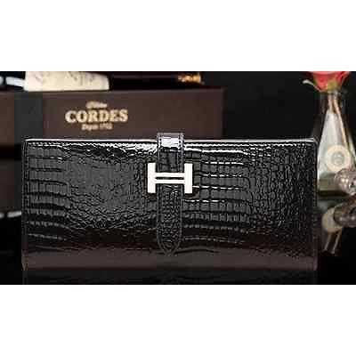 Portefeuille porte monnaie porte cartes femme style croco coloris noir achat vente - Porte monnaie porte carte femme ...