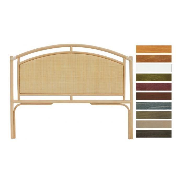 t te de lit cannage rotin naturel d me ajour pour lit 140. Black Bedroom Furniture Sets. Home Design Ideas
