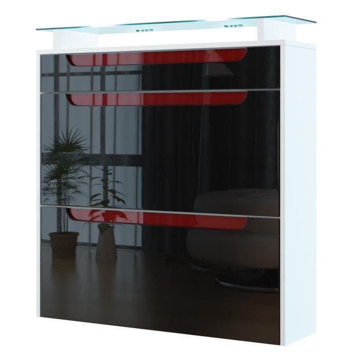 range chaussures suspendu blanc noir bordeaux achat. Black Bedroom Furniture Sets. Home Design Ideas